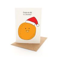Punny Xmas - Orange