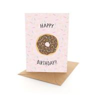 Birthday Doughnut