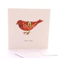 Fabric Bird With Love