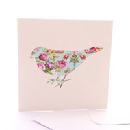 Fabric Bird Floral
