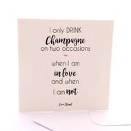 Coco Champagne Black