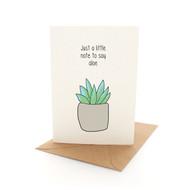 Punny Aloe