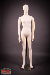 Female Mannequin, Flexible Posable Full-size In Beige