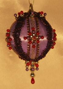 "Handmade Christmas Ornaments ""Natasha"""