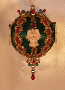 "Handmade Christmas Ornaments ""Christmas Angel"""