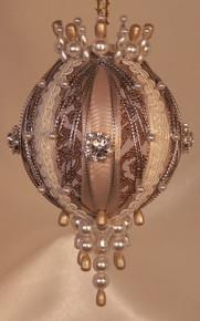 "Gift Boxed Heirloom Ornaments - Ornamentia Line - 2011 White Dove Collection ""Samantha Sue"""