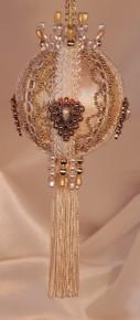 "Gift Boxed Heirloom Ornaments - Ornamentia Line - 2011 White Dove Collection ""Roberta Helene"""