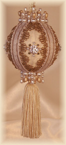 "Gift Boxed Heirloom Ornaments - Ornamentia Line - 2011 White Dove Collection ""Amelia Dora"""