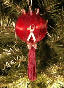 "AWARENESS ORNAMENTS - ""My Aunt"""