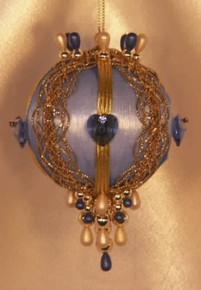 """Swarovski Crystal Birthstone Orna Mentz - """"September - Sapphire"""""""