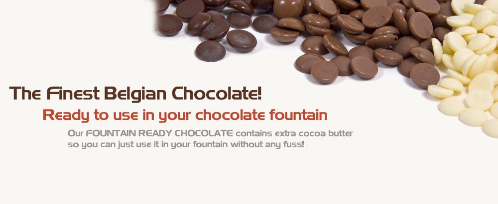Fountain Ready Belgian Chocolate