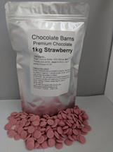 Chocolate Barns Premium Strawberry Chocolate 1KG