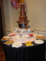Medium Chocolate Fountain Hire Package