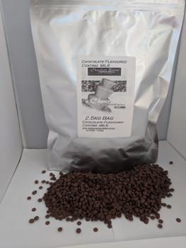 2 x 2.5KG = 5KG of Flavoured Fountain Ready Milk Chocolate