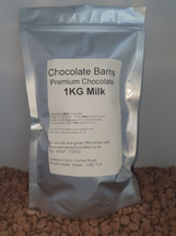 Chocolate Barns Premium MILK Chocolate Buttons/Chips/Callets 1KG