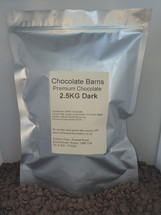 Chocolate Barns Premium DARK Chocolate Buttons/Chips/Callets 2.5KG