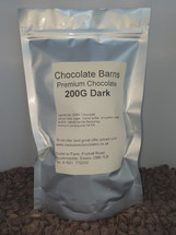 Chocolate Barns Premium DARK Chocolate Buttons/Chips/Callets 200G