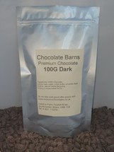 Chocolate Barns Premium DARK Chocolate Buttons/Chips/Callets 100G