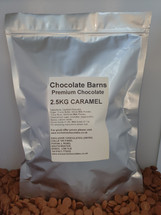 Chocolate Barns Premium CARAMEL Chocolate Buttons/Chips/Callets 2.5KG