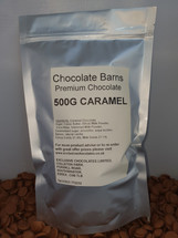 Chocolate Barns Premium CARAMEL Chocolate Buttons/Chips/Callets 500G