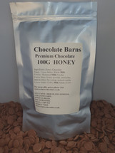 Chocolate Barns Premium HONEY Chocolate  Buttons/Chips/Callets 100G