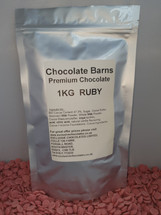 Chocolate Barns Premium RUBY Chocolate Buttons/Chips/Callets 1KG