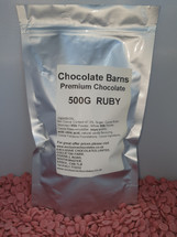 Chocolate Barns Premium RUBY Chocolate Buttons/Chips/Callets 500G