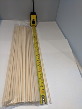 Bamboo Skewers 38cm (15 inches) very strong and thick.