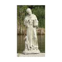St. Francis with Fawn Garden Statue