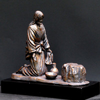 """He Comes To Serve"" Sculpture, Timothy Schmalz"