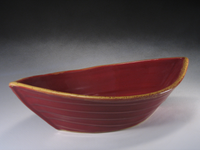 Red & Gold Dory Bowl