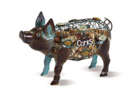 Pig Wine Cork Caddy