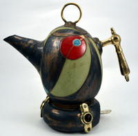 Green Tea or Coffee Pot with Stand