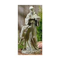 St. Francis with Horse Garden Statue