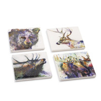 WildLife Coaster set of 4, Dean Crouser