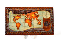 World Map Box (Light Colored)