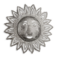 Sunshiny Hand Crafted Metal Wall Art