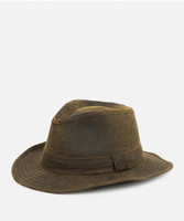 Men's Distressed Fedora