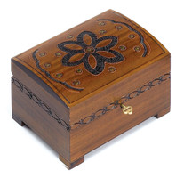 Floral Pattern Chest/Box