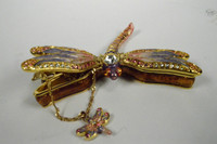 Beautiful Dragonfly Jewelry Box