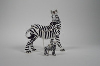 Savannah Zebra Jewelry Box with Necklace
