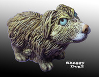 Scruffy Dog, Limited Edition, Harmony Kingdom Figurine