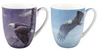 Eagle Set of Two Mugs