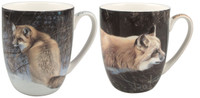 Fox Set of Two Mugs