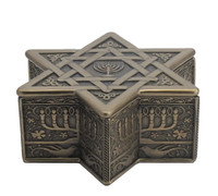 Star Of David Trinket Box