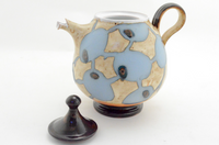 Blue Bronze Medium Teapot