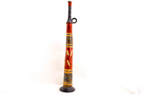 Red Charcoal Tall Bottle