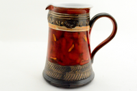 Short Charcoal Red Pitcher