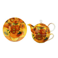 Van Gogh Sunflowers Tea for One