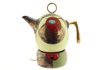 Short Green Tea/Coffee Pot (With Tealight Holder)